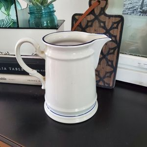 Vintage Dining - Vintage 1984 Country Blue Rooster Pitcher